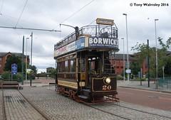 Birkenhead 20 Woodside Pier (TonyW1960) Tags: wirraltransportmuseum birkenhead woodside 20 tram strassenbahn trikk tranvia