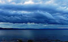 Clouds at dusk (LEXPIX_) Tags: lake champlain adk adirondacks cloud dark skies storm