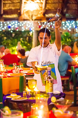 Edith's, Cabo San Lucas, Mexico (Thomas Hawk) Tags: baja bajacalifornia cabo cabosanlucas edith ediths loscabos mexicancoffee mexico coffee fire restaurant vacation fav10