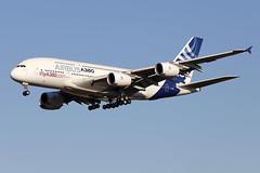 "22 septembre 2016 - AIRBUS INDUSTRIE - A 380  F-WWDD  ""ifly A 380.com"" - LFBO - TLS (gimbellet) Tags: canon nikon spotting spotter boeing blagnac lfbo toulouse tls transport transportation toulouseblagnac a330 a380 airplanes a320 a340 aircraft aviation avions aeroport atr airport airbus a350 aeronautique aeroplane airplane"