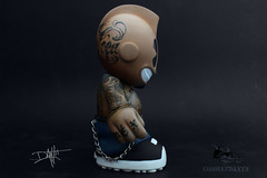 kid_chicano_tattoos_right (yo_commandante) Tags: art tattoo toy vinyl mascot kidrobot mexican custom vato arttoy homie chicano commandante cholo