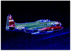 80576 T-33a-5041TOS (scismgenie) Tags: star aircraft military jet shooting lockheed trainer t33