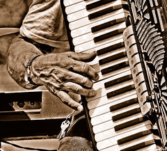 Music Maker (Wes Iversen) Tags: music hands keyboards accordians odc o