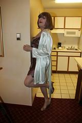 new54421-IMG_8259t (Misscherieamor) Tags: kitchen tv feminine cd tgirl transgender mature sissy tranny transvestite slip kimono satin crossdress ts gurl tg travestis travesti travestie m2f xdresser tgurl secretsinlace