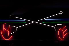 Brands (Jeremy Brooks) Tags: sanfrancisco california usa neon western brands brandingiron sanfranciscocounty