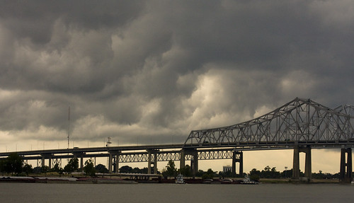 Storms over New Orleans