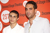 Jake Cannavale and Bobby Cannavale from the TV show 'Nurse Jackie' New York premiere of 'Dogfight' at the Second Stage Theatre - Arrivals. New York City, USA