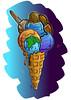 Galaxy ice cream (Jasmin Ahmad) Tags: