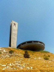 Buzludha Communist Monument (BauhausGirl) Tags: urban abandoned monument exploring ufo communist bulgaria exploration urbex buzludja buzludha