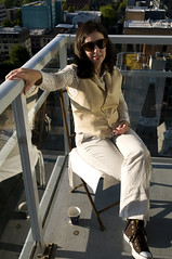 1 (Curtis Gregory Perry) Tags: woman sunglasses oregon portland balcony ولاية אורגון портланд орегон όρεγκον 포틀랜드 오레곤 פורטלנד اورگان بورتلاند أوريغون 俄勒冈州波特兰市 俄勒岡州波特蘭市 πόρτλαντ પોર્ટલેન્ડ ઓરેગોન पोर्टलैंड オレゴン州ポートランド پورتلند போர்ட்லேண்ட் ஒரேகான் ออริกอนพอร์ตแลนด์ پورٹلینڈ اوریگون פּאָרטלאַנד אָרעגאָן