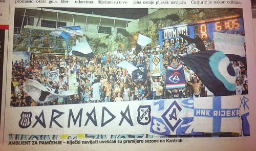 Tekma sa Zadrom (Novi List, 28.07.2012)