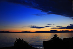 9485 kurz vor Nacht (peter pirker) Tags: sunset sea water canon landscape meer wasser sonnenuntergang croatia landschaft krk kroatien flickraward peterfoto eos550d peterpirker