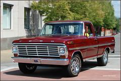 1970 Ford F100 Ranger (SpeedProPhoto) Tags: ford truck ranger pickup f100 f1 carshow fordtrucks clevelandtn mainstcruiseinclevelandtn
