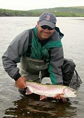 Osviack Rainbow (J.P. EVERETT) Tags: wild fish jason me field alaska river rainbow fishing natural wildlife ak national trout everett refuge oncorhynchus togiak mykiss osviack