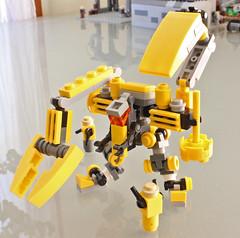 Satyr labor frame (Marcusstratus) Tags: game mobile robot war lego machine frame zero mecha marcusstratus