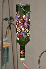 HUMMING BIRD FEEDERS (SneakinDeacon) Tags: art festival hummingbird crafts feeders streetfair steppinout
