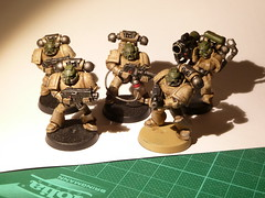 Space Marine Tactical Squad (Aquaphant) Tags: 40k warhammer spacemarines gamesworkshop tacticalsquad assaultonblackreach