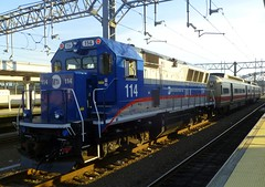 Metro-North train (t55z) Tags: train connecticut newhaven locomotive metronorth bl20gh