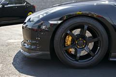Nissan GT-R (CLtotheTL32) Tags: skyline nissan brakes twinturbo volk v6 brembo gtr rotors r35