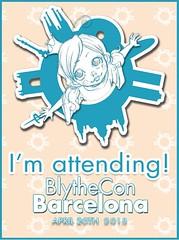 I'm attending Blythecon Barcelona! :D