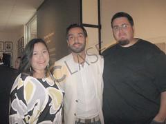 9. Aleida García Wedgworth, Brian Wedgworth y José María Gutiérrez