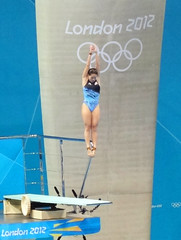 Olympic Diving 3m Springboard - Competition 3 (kappacygni) Tags: london swimming diving olympics 2012 springboard aquaticscentre womens3mspringboard