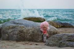 Windy day at the lake.......♥