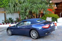 Maserati GranCabrio (Alexandre Prévot) Tags: auto cars car sport automobile european top parking transport automotive voiture monaco route exotic marques supercar luxe berline 2012 exotics supercars tmm ges déplacement worldcars topmarquesmonaco topmarquesmonaco2012 grandestsupercars