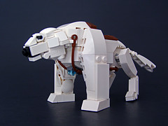 Naga the Polar Bear Dog (Legohaulic) Tags: dog lego avatar polarbear naga