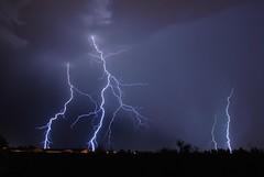 Thunderstorm (dmguz) Tags: arizona rain night monsoon bolt strike lightning sierravista
