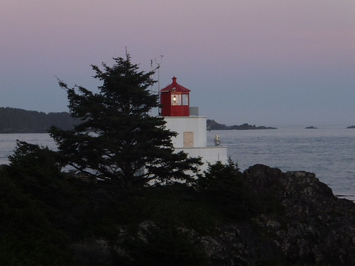 Nightall, Amphitrite Lighthouse, Ucluelet BC