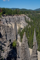 Pinnacles (LisArt) Tags: oregon craterlake craterlakenationalpark craterlakeoregon craterlakenationalparkoregon reflectioncraterlake reflectioncraterlakenationalpark