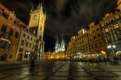 Prague old Town Square - 2AM (1982Chris911 (Thank you 1.250.000 Times)) Tags: night canon prague clocktower oldtownsquare tynchurch astronomicalclock stnicolaschurch canon5dmkiii canoneos5dmarkiii eos5dmarkiii 5dmark3 canoneos5dmark3 canon5dmark3 eos5dmark3 eos5dmkiii canoneos5dmkiii