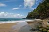 Blatant Disregard (Tōn) Tags: ocean sea seascape beach nature clouds warning landscape hawaii unitedstates pacific pacificocean kauai swimmer hi kalalau waterscape heiau napalicoast hanakapiaibeach kalalautrail distantfigure playingintheocean nāpalicoast blatantdisregard kauluapaoaheiau hanakapaistream hanakāpīaibeach tonyvanlecom