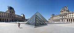 Carroussel Du Louvre Panoramique (digital_slice) Tags: panorama paris photoshop canon 350d louvre kitlens du musee parijs augustus 2012 lightroom