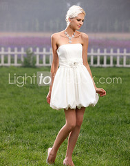 strapless-short-mini-princess-wedding-dresses-with-flowers-draped-ruched-4 (LightToTheBox) Tags: uk wedding white color celebrity beach modern ball with princess little designer under royal size maternity dresses 200 empire plus gown mermaid cheap petite aline 2012 sleeves sleeveless in sheath
