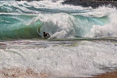 Sandy Beach Barrel (Silverder) Tags: ocean hawaii waves oahu tube barrel boogieboard sandybeach shorebreak bodysurfing sandybeachhawaii
