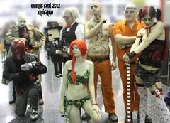 villains3 (LuniB) Tags: poisonivy harleyquinn ventriloquist redhood chicagocomiccon2012