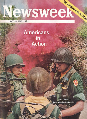 Newsweek 1965 May 24 - Vietnam War in color, Americans in Action