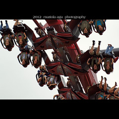 When your world turned upside down ... (mariola aga ~ non-professional member) Tags: park people chicago closeup square fun ride upsidedown rollercoaster sixflags greatamerica gurnee thegalaxy sailsevenseas