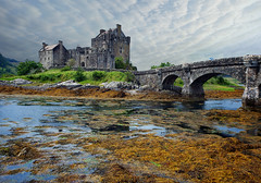 Eilean Donan Castle (guenterleitenbauer) Tags: pictures england castle canon landscape austria scotland photo sterreich key flickr foto image photos urlaub familie picture august images fotos juli bild schloss landschaft eilean donan bilder burg 2012 schottland gnter wels guenter leitenbauer allxpressus platinumheartaward wwwleitenbauernet