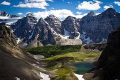 Valley of the Ten Peaks (CantStopDreaming) Tags: canada mountains hiking lakelouise valleyofthetenpeaks