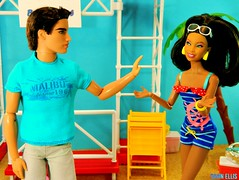 "End Games: Part 2 - ""You Were A Good Time..."" (Dawn Ellis) Tags: barbie barbieandken aabarbie beachbarbie barbieplayset dolldiorama kenfashionista teenbarbie ravensymonedoll"