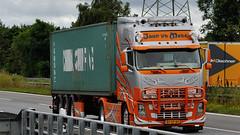 NL - John vd Made Volvo FH 16 GL02 (BonsaiTruck) Tags: john volvo made camion trucks lorries lkw fh16 gl02