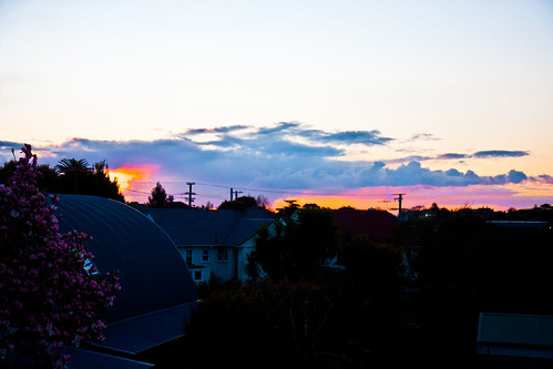 Sunset Mt Albert