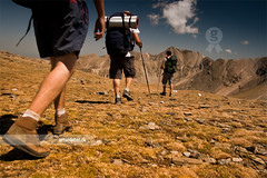 Hiking (arturii!) Tags: people cloud mountain man france men beauty trekking wow walking landscape boats person three amazing nice interesting europa europe superb pov hiking awesome great border group young peak down catalonia nuria crew stunning catalunya senderismo impressive pyrenees gettyimages pirineos pirineus queralbs canoneos400d arturii arturdebattk