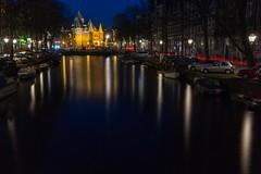 view to De Waag, Amsterdam (jimx9999) Tags: amsterdam holland netherlands grachten water wasser dewaag longexposure langzeitbelichtung