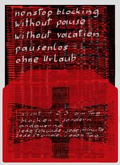 Mailart Envelope Letter Paper Kimono (35 + 33 + 33 + 35)  x 3 = 136 x 3 = 408 = 3 x 136 = 3 x (33 + 35 + 35 + 33)  Der Krieger blockt pausenlos ohne Urlaub - nicht 1 2 3 tglich sondern jede sekunde jede minute jede stunde jeden tag ganze Jahre andauernd (hedbavny) Tags: pausenlos urlaub vacation nonstop pause holiday kleinkariert linie line 35 33 fnfunddreissig dreiunddreissig thirtyfive thirtythree numerologie esoterik esoteric entlarvung orakel oracle minarett minarette augustus augustinus augustin august parapsychologie ffentlich public rorschach arbeit work frage ignore ignoranz fermate weis schwarz black white red rot sketch skizze entwurf design teppich tapestry tapisserie teppichweber letter mailart envelope umschlag briefumschlag kuvert briefpapier weaver weben weave mail musterbogen schnittmuster paperpattern schrift handschrift diary tagebuch hedbavny ingridhedbavny wien vienna austria sterreich