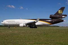 UPS | McDonnell Douglas MD-11F | N276UP | 20.07.2016 | Warsaw - Okecie (Maciej Deli) Tags: united parcel service ups mcdonnell douglas md11f n276up cargo freighter warsaw chopin airport trijet