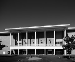 The Emporium (Chimay Bleue) Tags: coddingtown macys emporium mall shopping center design midcentury modern black white bw modernism modernist architecture architect sonoma